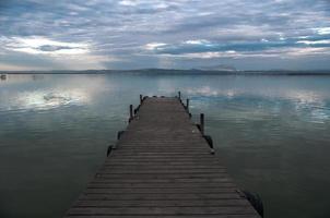 albufera estuarium in valencia, spanje