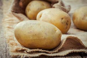 bos aardappelen foto