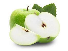 groep groene appels