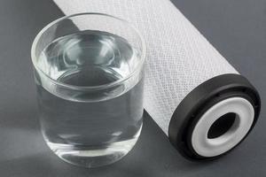 waterfilter en water