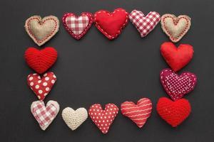 frame van vilten harten