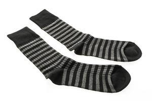 sokken op witte achtergrond foto