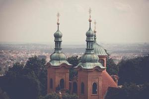 kathedraal van saint lawrence in praag, tsjechië