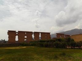 oude ruïnes in afgelegen Peru foto