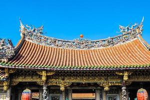 longshan-tempel in de stad van taipei, taiwan
