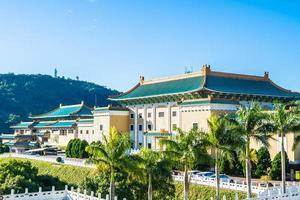 het nationale paleismuseum van taipei in de stad van taipei, taiwan foto