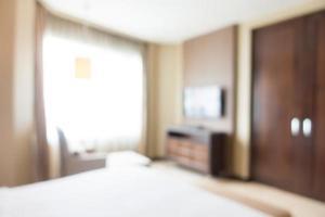 abstracte wazig slaapkamer foto