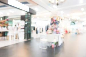 abstract wazig winkelcentrum interieur foto