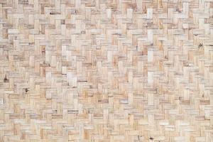 geweven bamboe textuur weefsel voor interieur foto
