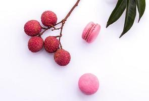 lychee macaron concept foto