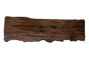 plank van hout foto
