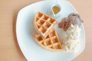 wafels en ijs