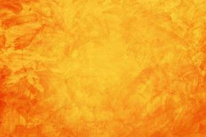 geel en oranje cement of betonnen muur voor achtergrond of textuur
