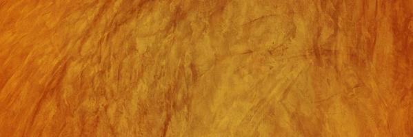 oranje cement of betonnen muur voor achtergrond of textuur
