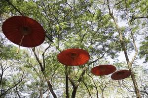 papieren handgemaakte paraplu decoraties