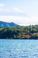 landschap op mt. fuji, japan