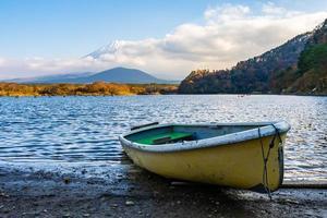 landschap op mt. fuji, japan foto