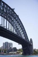 uitzicht op Sidney Bridge foto