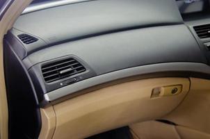 close-up van een autodashboard