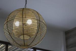 hangende hanglamp foto