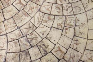 abstracte vloer van oud steenbeton foto