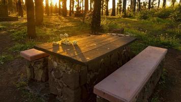 zonsondergang in gran canaria
