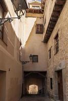 oude straten van Segovia foto