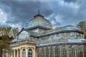 kristallen paleis van madrid foto