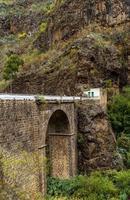 azuaje-brug in gran canaria foto