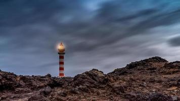 vuurtoren van Sardinië op het eiland Gran Canaria foto