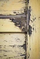 detail van oude houtcoating foto