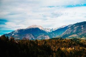 bergen van de alpen in slovenië