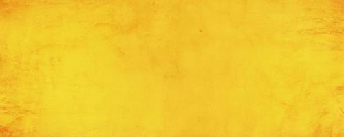 horizontale gele en oranje textuur cement muur achtergrond foto