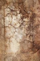 gebarsten rustieke muur foto