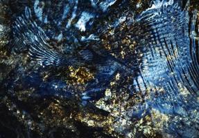 abstracte blauwe rimpelingen foto