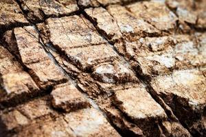abstracte rotsen op steen foto