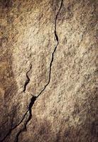 barst in een rots foto