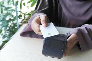 contactloos betalen met een kaart