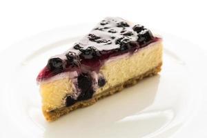 bosbessen cheese cake