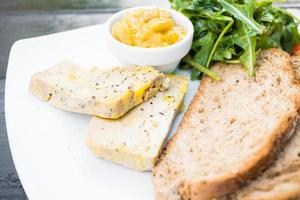 foie gras met brood