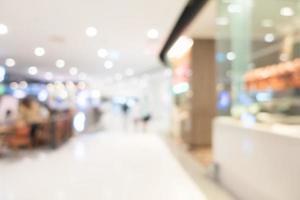 abstract intreepupil winkelcentrum interieur voor achtergrond