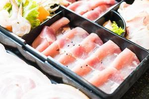 rauw varkensvlees