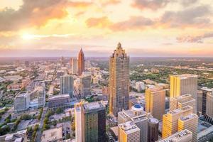 skyline van de stad Atlanta