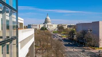 het capitoolgebouw van de verenigde staten dc