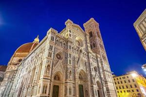 duomo en florence city downtown skyline stadsgezicht van italië