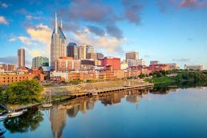 Nashville, Tennessee skyline van het centrum