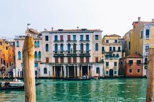2017 Venetië, Italië - Canal Grande van Venetië foto