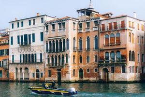 Venetië, Italië 2017- Canal Grande van Venetië, Italië foto