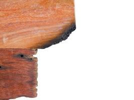 houten oppervlaktetextuur die op witte achtergrond wordt geïsoleerd