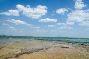 wolken en zee foto